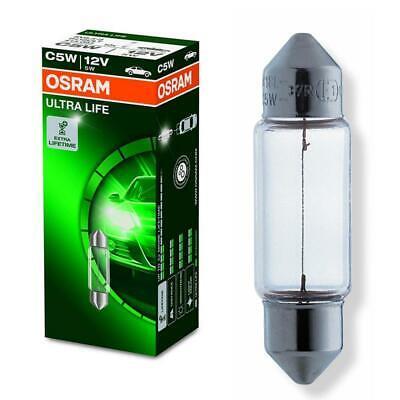 Osram Ultra Life Sofittenlampe Sofitte C5W 12V Innenraum Beleuchtung Glühlampe