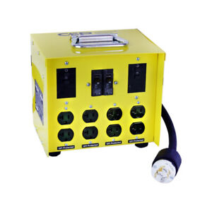 CEP Construction Electrical Products 6503GU 30-Amp Mini Portable