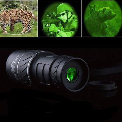 Jagd HD Nachtsichtgerät Monocular Handheld Teleskop Tragbar Camping Outdoor DE