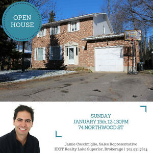 OPEN HOUSE CANCELLED Sunday Jan 15th, 12-1:30 -- 74 Northwood St