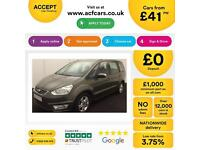 Ford Galaxy 2.0TDCi ( 140ps ) Powershift 2010.5MY Zetec FROM £41 PER WEEK