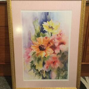 Framed watercolour by Barbara Spanos Kitchener / Waterloo Kitchener Area image 3