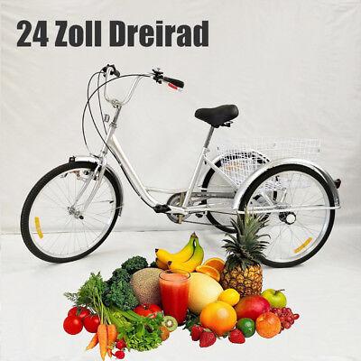 Nuovo Gli Adulti Triciclo Bicicletta Bici Tricicle