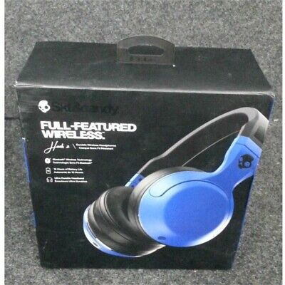 SkullCandy S6HBHW-515 Hesh 2 Wireless Headphones Blue