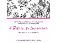A Return to Innocence: 1 Day Retreat for Women who carry Abuse Stories