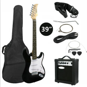 NEW NEW ADULT ELECTRIC GUITAR AMP PACKAGE SET FULL PACKAGE EGS11