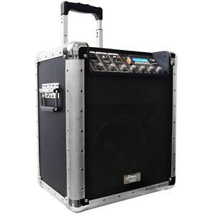 Portable Wireless PA System with SD Card/USB/MP3 Support
