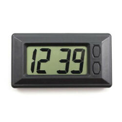 Ultra-thin LCD Digital Display Vehicle Car Dashboard Clock with Calendar Slim
