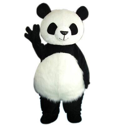 Adult Mascot Costumes (Panda Bear Mascot Costume Cosplay Adult Outfit Dress Parade Festival Animal)
