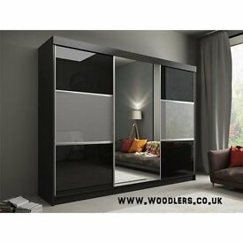 SPECIAL OFFER !! Rumbia Sliding Door Wardrobe - SAME/NEXT DAY DELIVERY