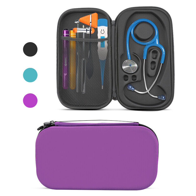 Medical Nurse Storage Bag Stethoscope Travel Carry Case Pouch Fits 3m Littmann