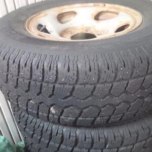 245/75R16 winter tires and rims St. John's Newfoundland image 1