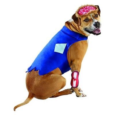 Zombie Dog Pet Halloween Costume Size XL Extra Large