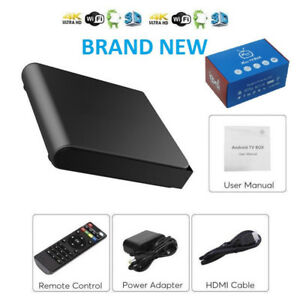 Android Box IPTV HD MAG Buzz TV +Wireless +Remote +4K +UHD +WiFi