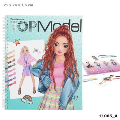Malbuch Depesche 7981 Create your TOPModel Fashion Kids