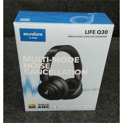 Soundcore By Anker A3028 LIFE Q30 Wireless Noise Cancelling Headphones Black