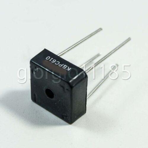 US Stock 10pcs KBPC610 KBPC-610 6A 1000V Bridge Rectifier
