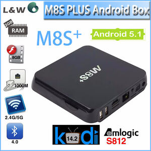 M8S+ M8S MXQ PRO T95 ANDROID TV BOX IPTV WITH LIFE TIME UPDATES