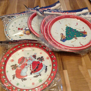 (NEW)  Christmas Time Metal Serving Trays