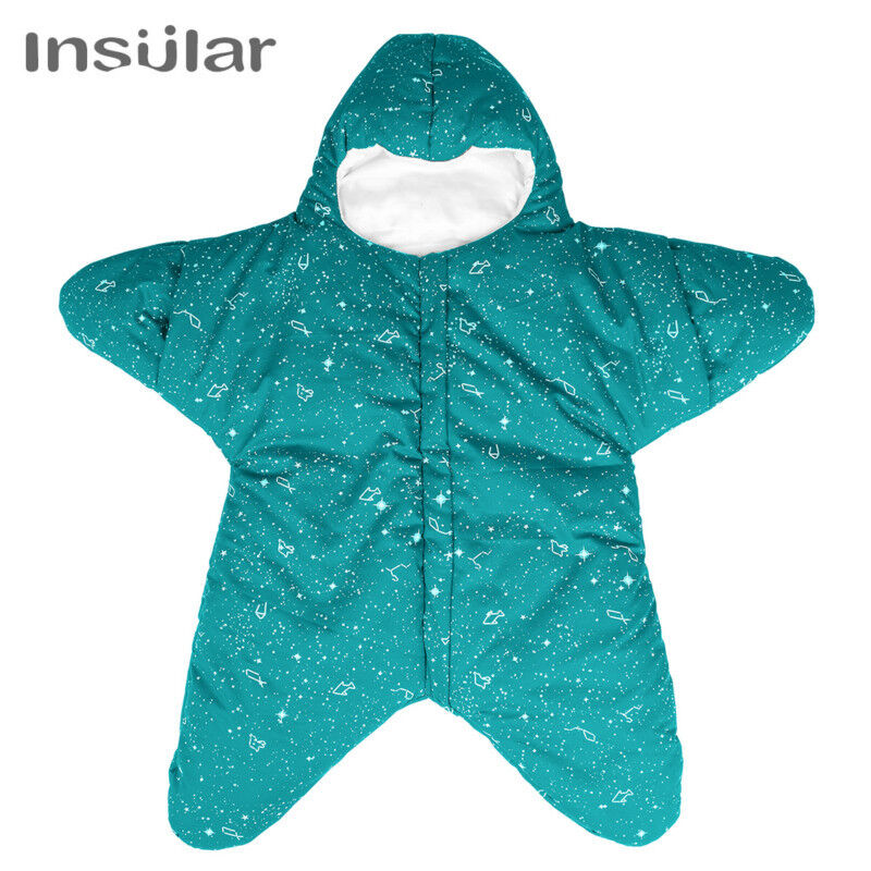 Cotton Star Baby Sleeping Bag Newborn Blanket Swaddle Baby Sleeping Stroller Bag