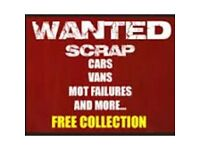 Wanted scrap cars and vans best prices paid