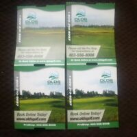 4 passes - weekday golf at Olds Golf Club