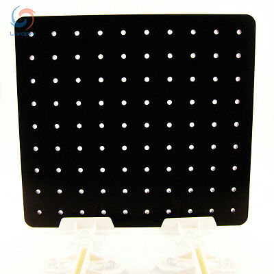 """5.5 Gallon 7.4""""x9.2"""" Aquarium Acrylic Divider With Holes 4 Suction Cup US Local"""