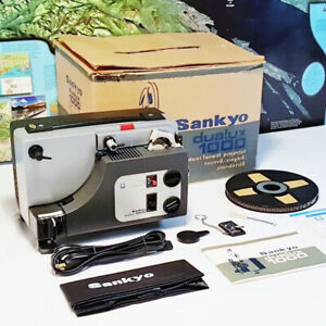 Sankyo Dualux 1000 Standard 8mm Super 8 Movie Projector~SERVICED