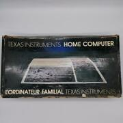 Computer texas home instruments home computer t...