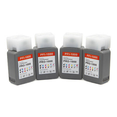 New 12 pcs Pigment Ink Cartridge For PFI 1000 For Canon ImagePROGRAF PRO-1000