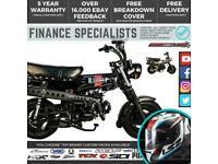 Bullit Heritage 50 50cc Mini Monkey Bike Delivery & Guaranteed Finance