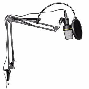 Music Studio Micro Microphone Suspension Boom Arm Stand Support Québec City Québec image 5