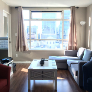 2 bedroom and den in prime downtown location