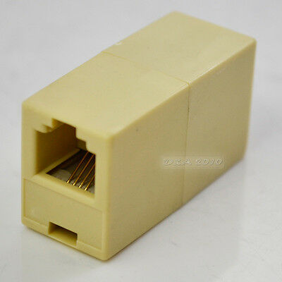 - RJ-11 Phone Line Cable Coupler connector socket adapter