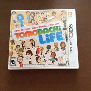Nintendo 3DS games - Animal Crossing New Leaf and Tomodachi Life