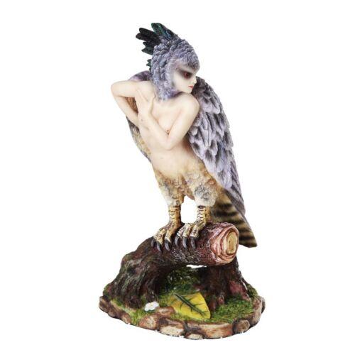ENCHANTED HARPY Angel Fairy Figurine Figure Sheila Wolk faery faerie statue
