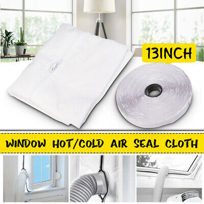 Flexible Window Seal Cloth Lock Stop for Mobile Air Conditioner Living Room
