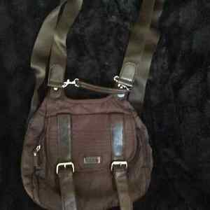 """""""Roots"""" Backpack/Purse -Excellent Condition!"""