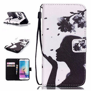 Wallet Cover Case For Samsung Galaxy S6 Edge Kitchener / Waterloo Kitchener Area image 2