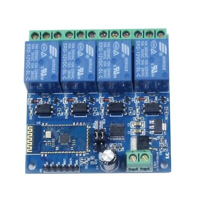 12v 4ch Remote Control Switch Bluetooth Relay Module For Android Mobile Mot I9p3