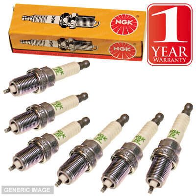 6x NGK Spark Plugs Ignition Replacement 6 Pack B6HS 4510