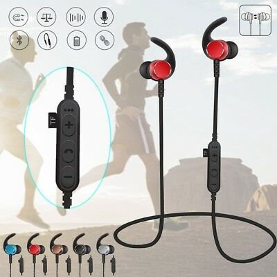 Bluetooth Earbuds Best Noise Reduction Wireless Headphones Sport Gym Headset