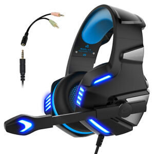 Gaming Headset for PS4 Xbox One Over Ear Gaming Headphones