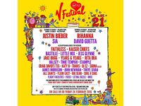 2x V Fest Hylands Park Red Weekend Camping Tickets