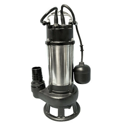 Schraiberpump 1hp 230v Heavy Duty Sewage Pump Cast Iron 107gpm 52lift 30 Wire