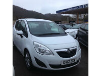 Vauxhall/Opel Meriva 1.4i 16v ( 100ps ) ( a/c ) 2012.5MY Exclusiv