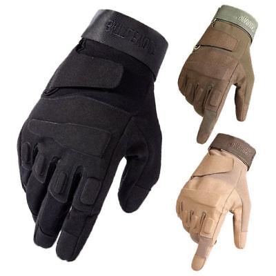 (Tactical Mechanics Wear All Purpose Knuckled Gloves Construction Field Duty Work)