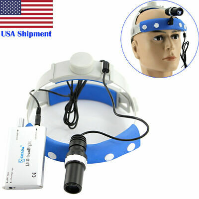Dental Led Headlight Lamp 5w High-power Surgical Medical Binocular Optical Glass