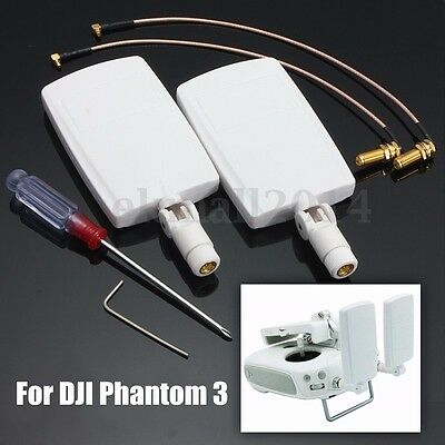 Antenna Booster Signal Amplifer Refitting Kit For Dji Phantom 3 Pro Advanced Diy