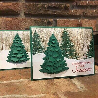 Christmas Tree Metal Cutting Dies DIY Craft Stencil Paper Card Decor Die Cuts ()